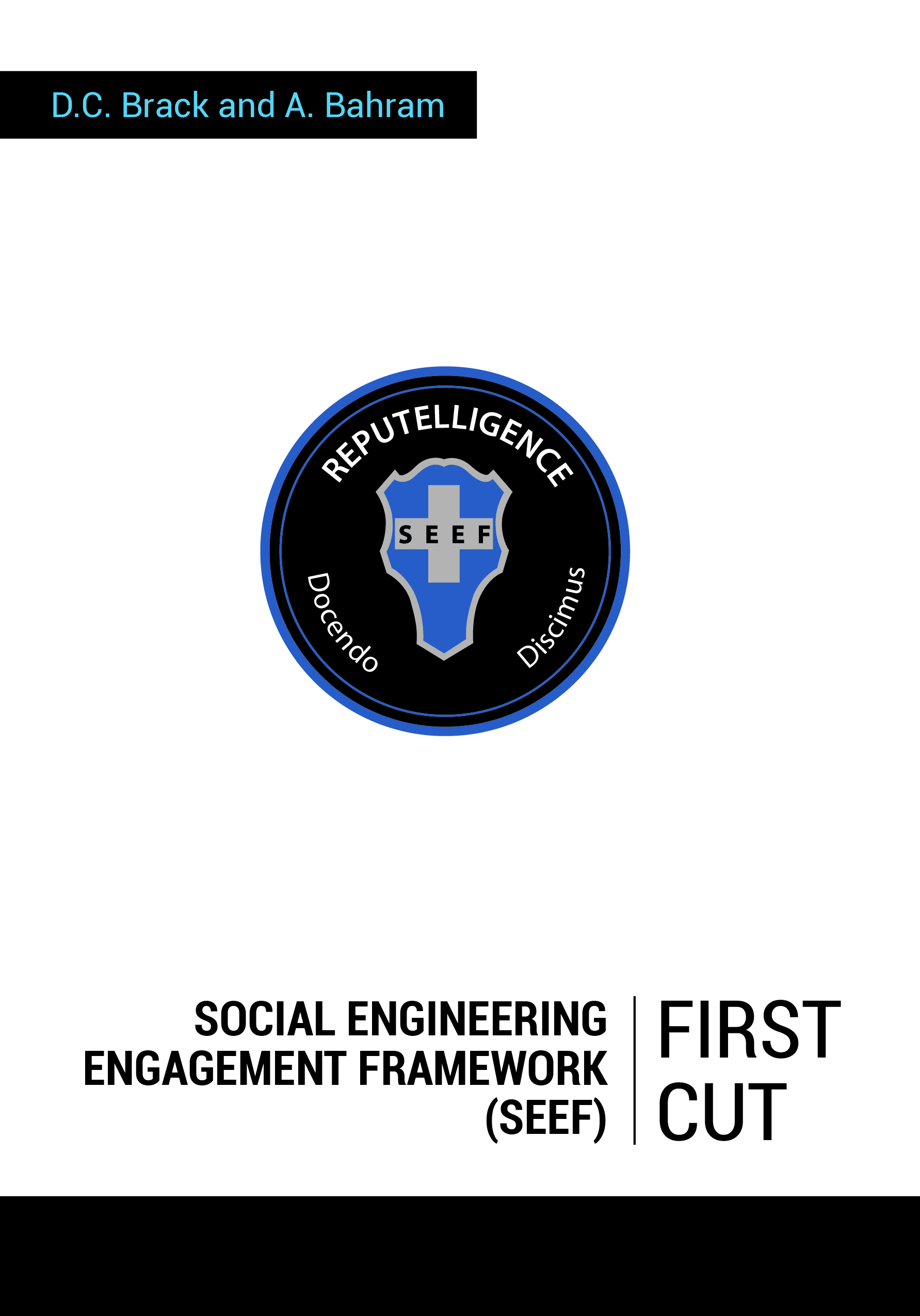 SEEFBookCover-Front-01 book press release FOR IMMEDIATE RELEASE - UNLOCK THE SKILLS OF SOCIAL ENGINEERING ENGAGEMENT MANAGEMENT SEEFBookCover Front 01